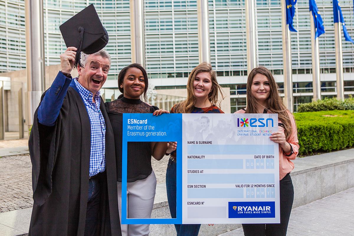 Potpisano partnerstvo između Erazmus studentske mreže i kompanije Ryanair